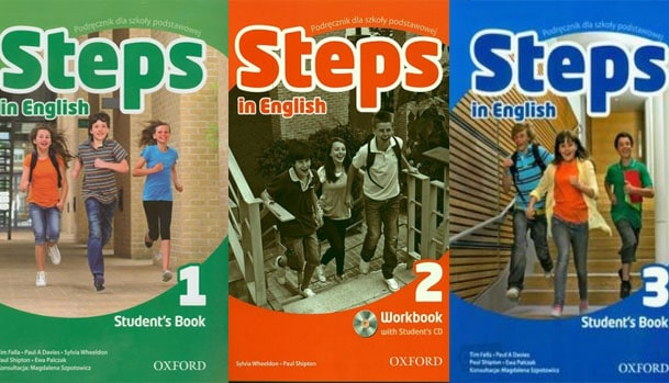steps in english testy