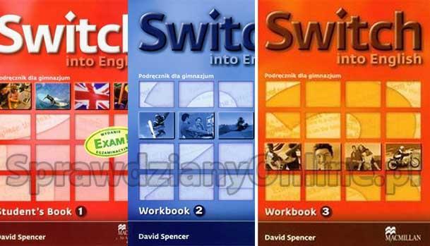 """""""Switch into English"""" 1, 2, 3 Testy Angielski Sprawdziany Chomikuj"""