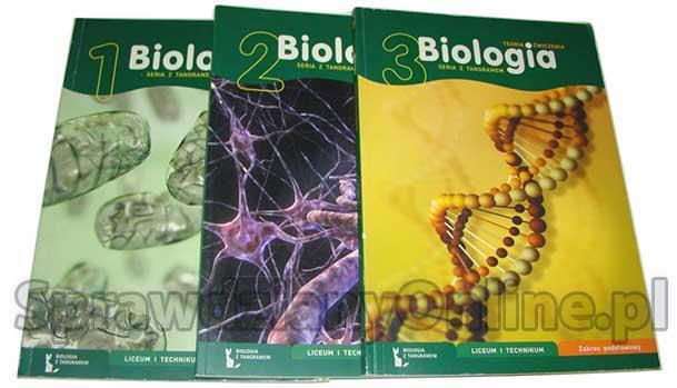biologia z tangramem sprawdziany
