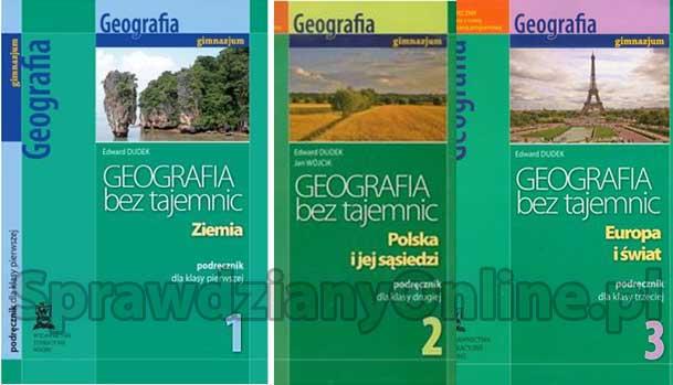 geografia bez tajemnic 3 sprawdziany