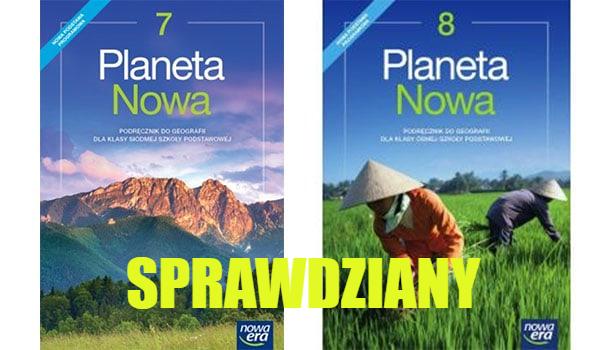 Planeta Nowa Sprawdziany PDF Ćwiczenia Odpowiedzi
