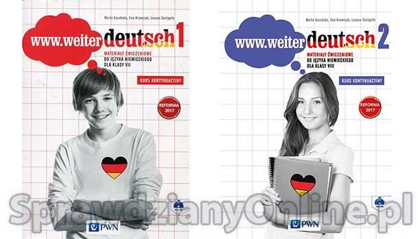 Weiter Deutsch Testy PDF Klasa 7, 8 Sprawdziany Chomikuj