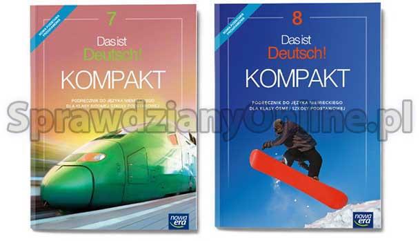 das ist deutsch kompakt 7 sprawdziany