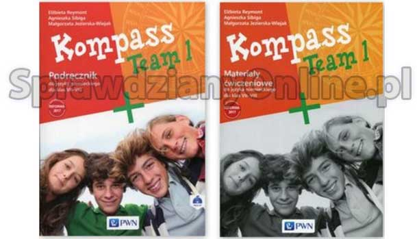Kompass Team 1, 2 Sprawdziany Testy Klasa 7, 8 PDF 2020