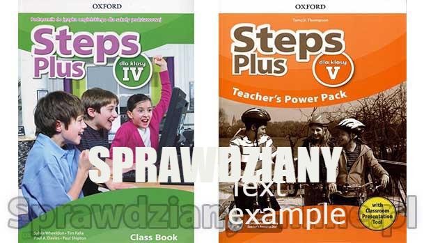 Steps Plus Testy PDF Klasa 4-7 Sprawdziany Chomikuj 2020