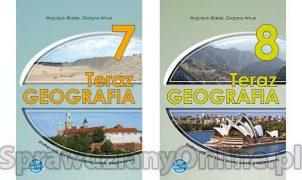 teraz geografia 8 sprawdziany