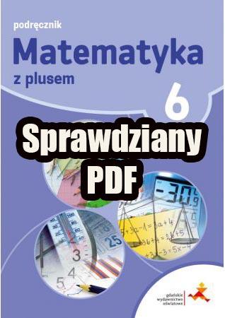 matematyka z plusem klasa 6 sprawdziany